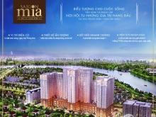 Gửi bán căn hộ Saigon Mia, 78 m2, 2 phòng ngủ, tầng 12, hướng đông