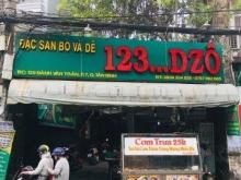 Bán nhà MTKD 129 Bành Văn Trân F.7 Q.Tân Bình, DT: 599m2, Giá: 79 tỷ