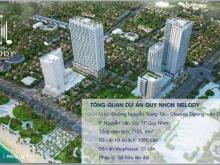 Căn Hộ khách sạn Melody TP Biển Quy Nhơn giá chỉ 33 tr/m2, CK 3%, ở lâu dài, hl: 0931301767