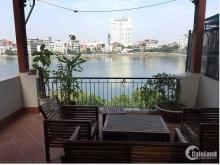 Bán Biệt thự Sân vườn 4 mặt thoáng phố Võng Thị, 150m2, nằm sát Hồ Tây,