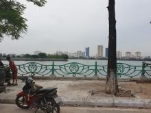 Ngân hàng bán phát mại nhà mặt phố Quảng Bá, 120m, Mt 12m, 0982898884