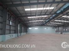 Cho thuê kho xưởng giá rẻ tại Cụm CN Gia Lộc Hải Dương DT 6002m2