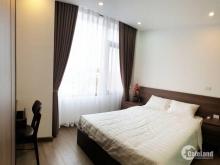 Cho thê căn hộ 2 phòng ngủ full nội thất, 45m2 giá 12,6triệu/th, view nhìn ra Hồ Tây