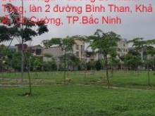 Cần bán lô đất làn 2 đường Phạm Ngũ Lão, Khả Lễ, TP.Bắc Ninh