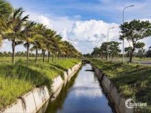 Đất nền ven biển - mặt tiền sông - ra bãi biển Tân Trà 700m - đối diện 2 sân golf.