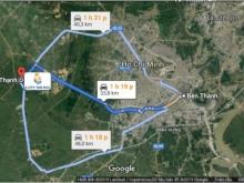 Bán đất thị trấn Đức Hòa, nằm mặt tiền đường Tỉnh lộ 824, DT 6x20m
