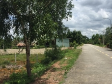 Đất thổ cư mặt tiền đường Trung An xã Trung An Củ Chi