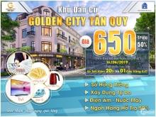 Đầu tư ngay dự án Gold City, chiết khấu 3 chỉ vàng, SHR từng nền, 100% thổ cư