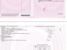 Đất 8x16 Mặt Tiền Hương Lộ 2, ngay bệnh Viện Xuyên Á, sổ hồng riêng, thổ cư 100%