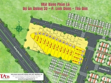 Bán đất đường 22, Linh Đông, DT 82m2 thổ cư, đường nhựa 6m, khu dân cư hiện hữu