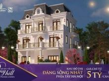 Bán biệt thự nghỉ dưỡng đáng sống bậc nhất khu vực phía tây Hà Nội