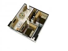Nhà ở xã hộ chung cư Central Apartment, mặt tiền 574 Kinh Dương Vương, LH ngay booking