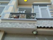 Nhà 2 lầu, 4 phòng ngủ, đường số 6. Bình Tân