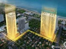 Căn hộ Quy Nhơn, Bình Định, Giá 33 triệu/ 3pn/ 85 m2, nội thất cao cấp, Góp 36 tháng. NH hỗ trợ 70%. LH 0909306786