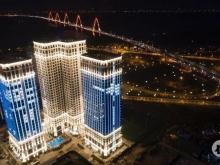 căn 3PN ban công Đông, full nội thất cao cấp, sắp nhận nhà, view sông Hồng - cầu Nhật Tân, 3.5 tỷ