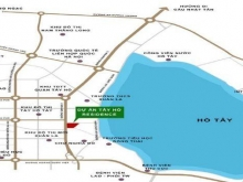 View hồ điều hòa Tây Hồ Tây, bán căn 2 ngủ góc Tây Hồ Residence, 70m2, full đồ, CK 7%. 2,7 tỷ