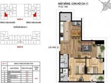 Bán gấp căn hộ 11 tòa A, tầng đẹp, giá cực rẻ 2.74 tỷ!