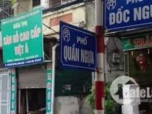 Cho thuê nhà mặt phố Đốc Ngữ làm VP, Nhà Hàng, Fastfood, cà phê, trà sữa 70m*2t