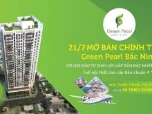【Chung cư Green Pearl Bắc Ninh】【ck 5% - Ls 0%】