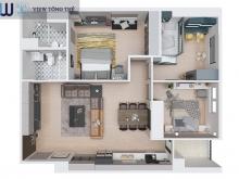 Với 450 triệu, sở hữu căn hộ chung cư cao cấp 73m2 tại Hà Nội