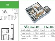 An cư lạc nghiệp tại quận Long Biên, sống ở căn hộ cao cấp trong không gian xanh