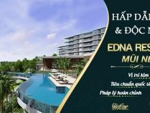 Căn hộ biệt thự Edna Resort cách biển chỉ 30m sở hữu lâu dài, pháp lý hoàn thiện