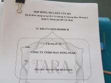 CẦN BÁN GẤP CĂN HỘ CHUNG CƯ TARA RESIDENCE - TẠ QUANG BỬU (Q8) 3 PHÒNG NGỦ, 90 M