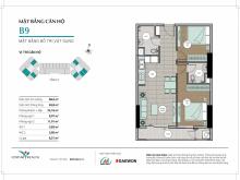 Nhượng căn 68,5m2 dự án Centum Wealth, Đông Nam, view Quận 9: 0909869112