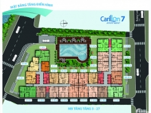 Bán căn hộ Lương Minh Nguyệt 1 PN 55m2 giá 1.7 tỷ tầng trung