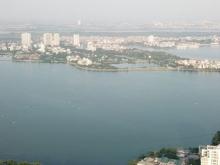 Căn hộ view Hồ Tây, 94.7m2 3PN, Full nội thất, HT vay LS 0%. CK 8%