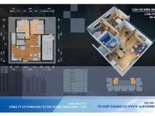 Nhận nhà ở ngay khi mua căn hộ 2PN dự án 60B Nguyễn Huy Tưởng.ra sổ sau 1 tháng