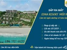 Edna Resort quỹ đất cuối cùng tại mặt tiền biển Mũi Né,giá chỉ từ 1,3 tỷ/căn 70m