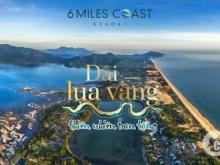 Biệt Thự Biển 6 Miles Coast Resort mở bán đợt 1 giá CDT, lợi nhuận 10%/năm