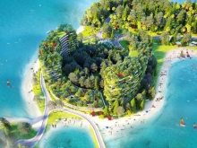 4/8 ra mắt CH nghỉ dưỡng Condotel Flamingo Resort, Mắt ngọc giữa lòng hồ Đại Lải