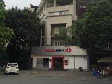 Bán nhà mặt phố Trần Khát Chân, mặt tiền 7m, lô góc,  ngân hàng thuê