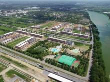 Biệt thự nhà phố ven sông Vàm Cỏ mặt tiền QL1A  TT Tp Tân An chỉ từ 1,7 tỷ