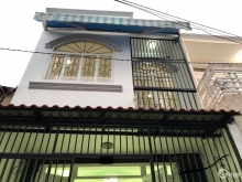 Nhà sát chợ Phú Xuân huyện Nhà Bè, 42m2 nở hậu
