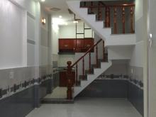 Bán nhà phố 1 trệt 2 lầu, bệnh viện q12, 3.2 x 9.5m