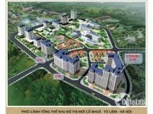 Chính chủ bán căn hộ khu đô thị Cổ Nhuế, 3 phòng ngủ, 2WC, DT 108m2.