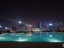 Cho thuê căn hộ 2 phòng ngủ Vinhomes Sky Lake Phạm Hùng, 76m2, full đồ