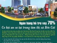 Sở hữu nhà 1 trệt 1 lầu ngay thị xã Bến Cát giá rẻ chỉ 287 Triệu