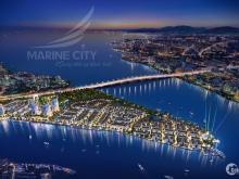 Mở bán KĐT Phố biển Marine City 3 mặt giáp sông, sổ đỏ toàn khu, chỉ 18tr/m2