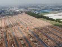 CITY LAND BÌNH DƯƠNG Đất 2 mặt tiền đường DT746, Đối diện KCN Nam Tân Uyên