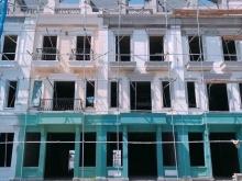 nhà phố thương mại đầu tiên tại thành phố Uông Bí