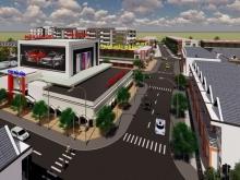 Bán 4 nền liền kề trung tâm thương mại Mái Dầm - 800 triệu
