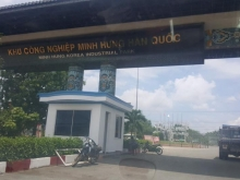 bán 100m2 đất thổ cư đã có sổ ở Minh Hưng