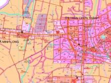 Cần bán đất Thành Tâm liền kề khu công nghiệp Chơn Thành, giá rẻ.