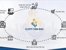 Chỉ 700tr sở hữu ngay đất nền mặt tiền trung tâm thị trấn Đức Hòa.CK NGAY 10%