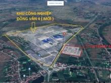 Dự án ĐẤT NỀN phân lô cự HOT tại KCN ĐỒNG VĂN IV HÀ NAM giá chỉ từ 15tr/m2