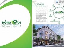 Đất nền dự án KĐT Đồng Văn Green Park - Đối diện KCN Đồng Văn 4